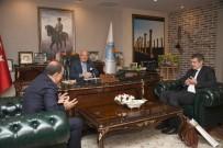 BURHANETTIN KOCAMAZ - İsveç Büyükelçisi Lars Wahlund'dan Başkan Kocamaz'a Ziyaret