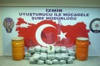 NARKOTIK - İzmir'de 102 Kilo Esrar Ele Geçirildi