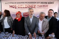 KAĞITHANE BELEDİYESİ - Kağıthane'de Vatandaşlara 18 Bin Adet Aşure İkram Edildi