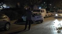 Kaza Yapan Otomobil Karşı Şeride Geçti Açıklaması 1 Yaralı