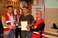 ÇETIN KıLıNÇ - Kızılay, Sarıgöl'de 65 Kişiye Madalya Dağıttı