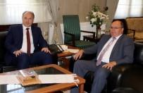 AMIR ÇIÇEK - Kosova'lı Türk Vekilden Vali Çiçek'e Ziyaret