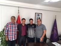SANAYİ SİTESİ - Kuşadası Gençlikspor Kulübü'nden Sanayi Sitesi Yönetimine Ziyaret