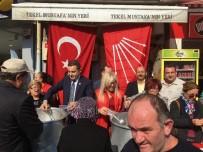 CUMA NAMAZI - Milletvekili Akın, Aşure Dağıttı