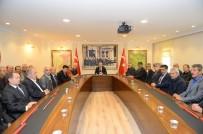 MAHALLİ İDARELER - Muhtarlardan Edirne Valisi Özdemir'e Ziyaret