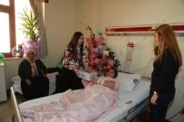 HALKLA İLIŞKILER - Şahinbey Belediyesinin Hastane Ziyaretleri Sürüyor
