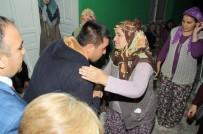TAZİYE ZİYARETİ - Salihlili Şehit Aileleri, Alaşehirli Şehit Ailesinin Acısına Ortak Oldu