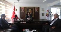 MUSTAFA YAVUZ - SGK Konya İl Müdürü Yavuz'dan Başkan Tutal 'A Ziyaret