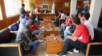 SIVASSPOR - Sivasspor Taraftar Grubundan, Başkan Aydın'a Ziyaret