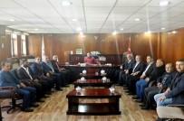 KAMERA - STK Temsilcilerinden Kayyum Şahin'e Ziyaret