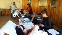 KAN BAĞıŞı - Üniversite Öğrencilerinden Kan Bağışına Destek