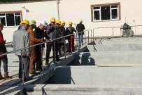 ZAM - Uysal, İçme Suyu Arıtma Tesisini İnceledi
