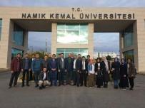 NAMIK KEMAL - AK Parti Gençlik Kolları NKÜ'lü Öğrencilere Aşure Dağıttı