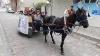 DERNEK BAŞKANI - At Arabasında İstanbul'a Sanat Yolculuğu