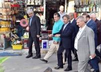 BALIK PAZARI - Başkan Ahmet Misbah Demircan Açıklaması 'Esnafımızın Yanındayız'