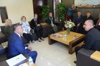 ŞEHIT - Bursalı Dernek Federasyonundan Başkan Akdoğan'a Ziyaret