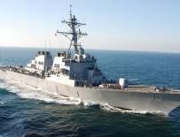 ÇİN DENİZİ - Çin'den ABD'ye savaş gemisi tepkisi!