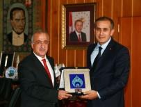 ORTA ASYA - ERATÜN Başkanı Şener'den Rektör Çomaklı'ya Ziyaret