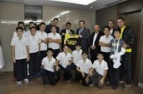 BASKETBOL TAKIMI - GKV'li Sporculardan Fadıloğlu'na Teşekkür Ziyareti