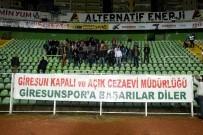İNFAZ KORUMA - Mahkumlar Stadyumda Maç Seyretti