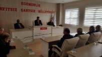 TARıM - Pazaryeri Belediye Meclisi Olağanüstü Toplandı