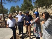 ORMAN İŞLETME MÜDÜRÜ - Resul Osman Dağı Alanında İnşaat Çalışmaları Başladı
