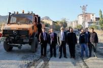 MEHMET EMİN TAŞÇI - Vali Toprak Belediye Çalışmalarını İnceledi