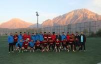 CEBRAIL - Vali Toprak'tan Hakkarisporlu Futbolculara Ziyaret