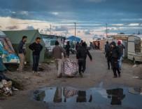 Fransa'daki Calais Sığınmacı Kampı