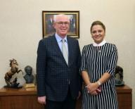 SOSYAL DEMOKRAT - Afyonkarahisar Milletvekili Köksal, Başkan Kurt'u Ziyaret Etti