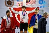 MİLLİ HALTERCİ - Ayşegül Çakın Yıldızlar Dünya Şampiyonu