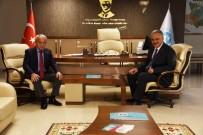 KANALİZASYON - Başkan Öz'den Genel Müdür Coşkun'a Ziyaret