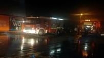 YANGINA MÜDAHALE - Başkent'te Korkutan İş Yeri Yangını