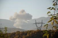 BOMBALI ARAÇ - Bomba yüklü araç helikopterle vuruldu