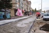 ANKARA BÜYÜKŞEHİR BELEDİYESİ - Dikmen Caddesi'nde Kaldırım Çalışmaları Devam Ediyor