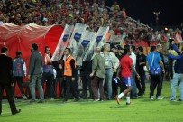 GÖZTEPE - Eskişehirspor sahadan çekildi