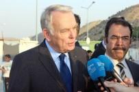 GAZİANTEP HAVALİMANI - Fransa Dışişleri Bakanı Ayrault Gaziantep'te