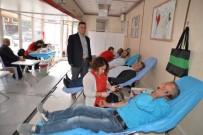 KAN BAĞıŞı - Gördes'te Kan Bağışına Büyük İlgi