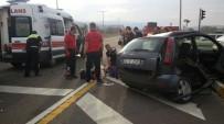 KıRıM - Hasta Taşıyan Ambulans Kaza Yaptı Açıklaması 1 Ölü, 4 Yaralı