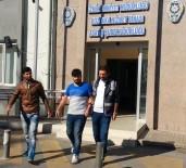 KAMERA - Hastaneden Televizyon Çalan Hırsızlar Kameralara Yakalandı
