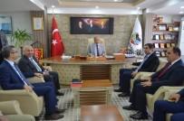 AHMET ÇAKıR - MASKİ Genel Müdürü Dr. Özgür Özdemir'den Doğanşehir'e Ziyaret
