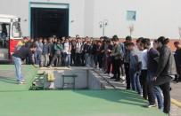SU ARITMA TESİSİ - Mühendis Adayları SASKİ Tesislerini Gezdi