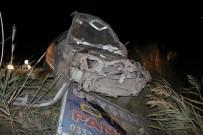 ALI ERDOĞAN - Otomobil Takla Attı Açıklaması1 Ölü, 1 Yaralı