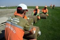 FUTBOL SAHASI - Rulo Çim Tesisi Ekonomiye Katkı Sağlıyor