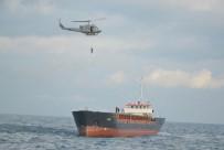 DENİZ KUVVETLERİ - Sürüklenen Gemiden Böyle Kurtarıldılar