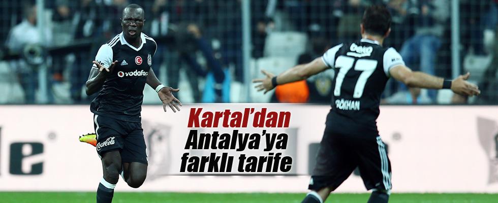 Beşiktaş Arena'da farklı kazandı
