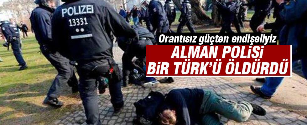 Almanya'da bir Türk polis tarafından öldürüldü