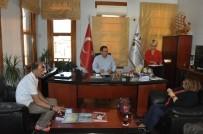 PADIŞAH - Ayvalık'ta PTT Çalışanlarından 176. Yıl Ziyareti