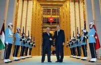 FILISTIN - Cumhurbaşkanı Erdoğan, Filistin Devlet Başkanı Abbas İle Görüştü