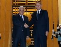 FILISTIN - Cumhurbaşkanı Erdoğan Abbas'la görüştü